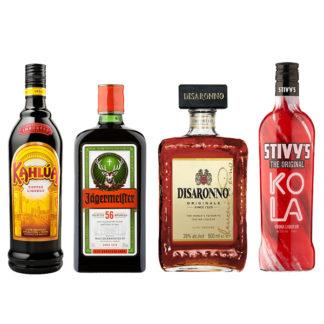 Shots, Liqueurs & Cocktails