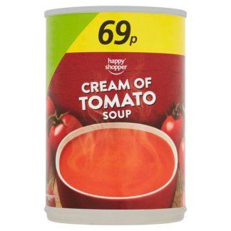 Happy Shopper Cream of Tomato Soup 400g (Case of 6)
