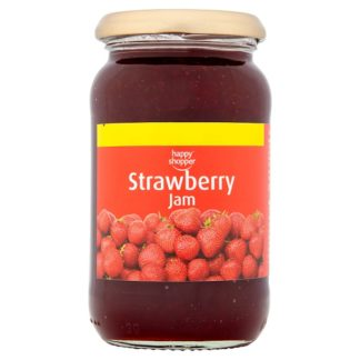 Happy Shopper Strawberry Jam 454g (Case of 6)