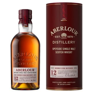 Aberlour Distillery 12 Years Old Speyside Single Malt Scotch Whisky 70cl (Case of 3)