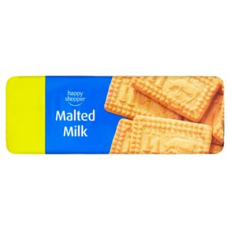 Happy Shopper Malted Milk Biscuits 200g (Case of 12)