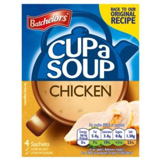 Batchelors Cup a Soup Chicken 4 Sachets 81g (Case of 9)