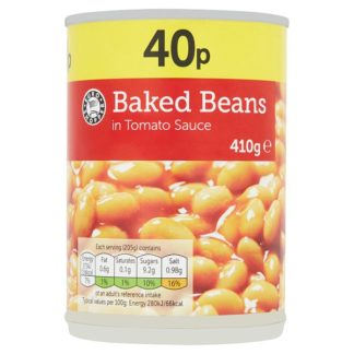Euro Shopper Baked Beans in Tomato Sauce 410g (Case of 12)