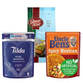 Dry Veg, Cereals & Rice Retail