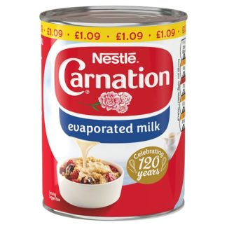 Carnation Evaporated Milk 410g (Case of 12)