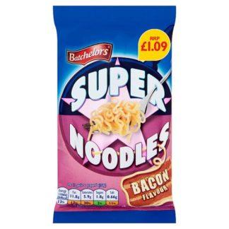 Batchelors Super Noodles Bacon Flavour 90g (Case of 8)