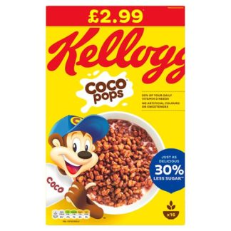 Kellogg's Coco Pops Cereal 480g (Case of 6)