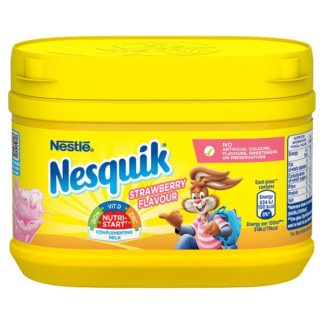 Nesquik®Strawberry Milkshake Powder300g Tub (Case of 10)