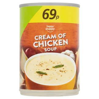 Happy Shopper Cream of Chicken Soup 400g (Case of 6)