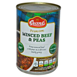 Grant's Minced Beef & Peas 392g (Case of 6)