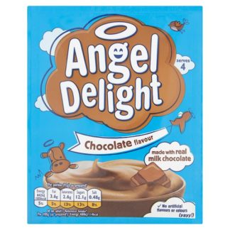 Angel Delight Chocolate Flavour Dessert 59g (Case of 21)