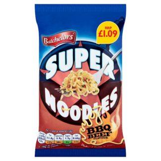 Batchelors Super Noodles BBQ Beef Flavour 90g (Case of 8)