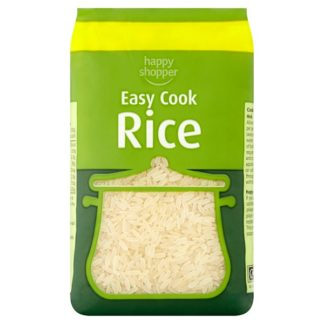 Happy Shopper Easy Cook Rice 500g (Case of 12)