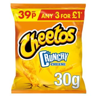 Cheetos Crunchy Cheese Snacks 39p PMP 30g (Case of 30)