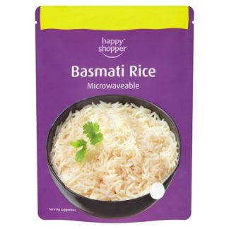 Happy Shopper Basmati Rice 250g (Case of 6)