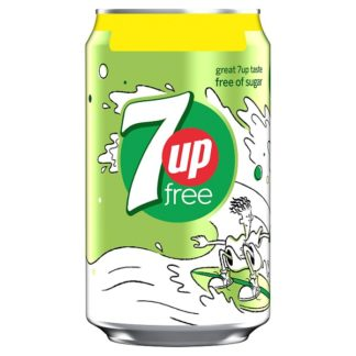 7Up Free Lemon and Lime 330ml (Case of 24)