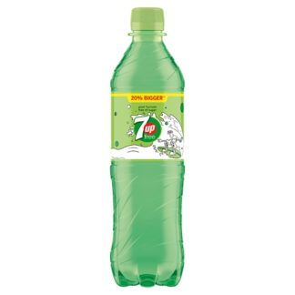 7UP Free Lemon and Lime 600ml (Case of 12)