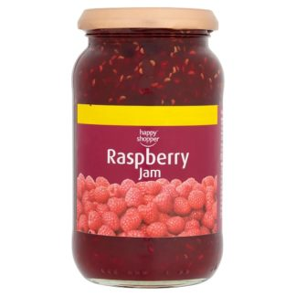 Happy Shopper Raspberry Jam 454g (Case of 6)