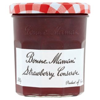 Bonne Maman Strawberry Jam 370g (Case of 6)