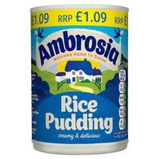 Ambrosia Rice Pudding 400g (Case of 12)