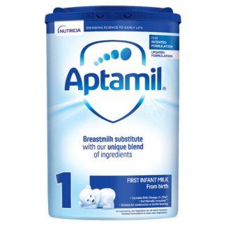 Aptamil 1 First Baby Milk Formula From Birth 800g (Case of 6)