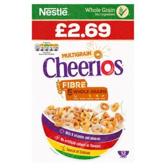 Cheerios Multigrain 375g (Case of 5)