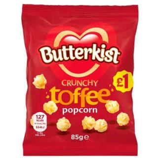 Butterkist Crunchy Toffee Popcorn 85g (Case of 12)