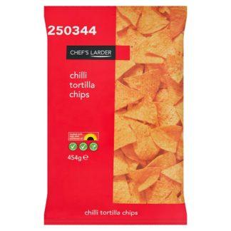 Chef's Larder Chilli Tortilla Chips 454g