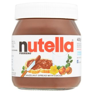 Nutella Hazelnut and Chocolate Spread Jar 400g (Case of 6)