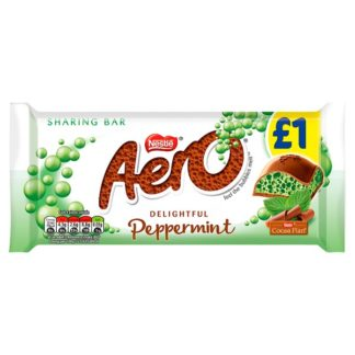 Aero Peppermint Mint Chocolate Sharing Bar 90g PMP £1 (Case of 15)