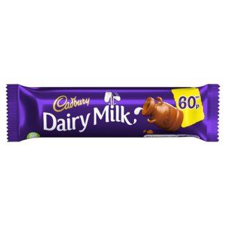 Cadbury Dairy Milk Chocolate Bar 60p 45g (Case of 48)