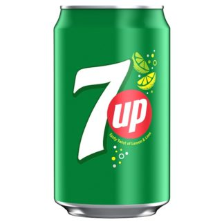 7UP Lemon and Lime Regular 330ml (Case of 24)