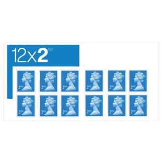 2nd Class Post Stamps 12s (Case of 5)