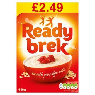 Ready Brek Smooth Porridge Original Oats Case 6 x 450g PMP £2.49 (Case of 6)