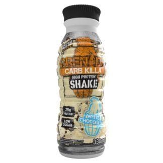 Grenade Carb Killa High Protein Shake White Chocolate 330ml (Case of 8)