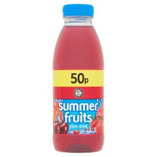 Euro Shopper Summer Fruits Juice Drink 500ml (Case of 12)