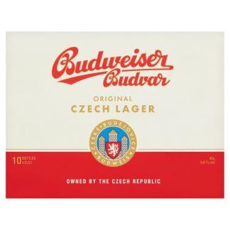 Budweiser Budvar Original Czech Lager 10 x 500ml (Case of 10)