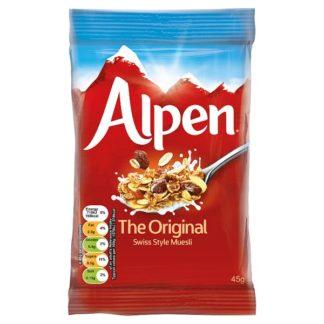 Alpen The Original Swiss Style Muesli 30 x 45g (Case of 30)