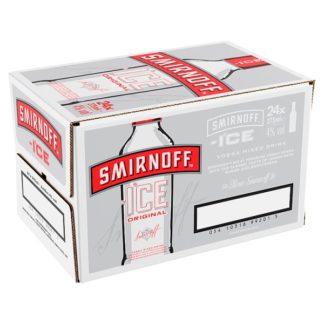 Smirnoff Ice Vodka Mixed Drink 24 x 275ml Bottle Multipack (Case of 24)