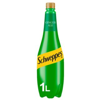 Schweppes Canada Dry Ginger Ale 1L (Case of 6)