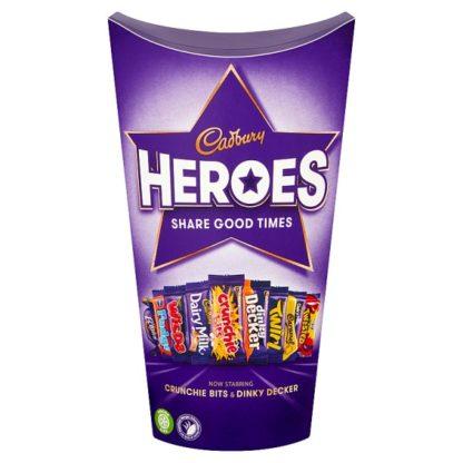 Cadbury Heroes Chocolate Carton 290g (Case of 6)