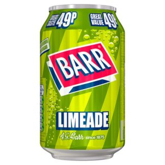 Barr Limeade 330ml Can, PMP 49p (Case of 24)