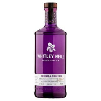 Whitley Neill Rhubarb & Ginger Gin 70cl (Case of 6)