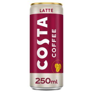 Costa Coffee Latte 250ml (Case of 12)
