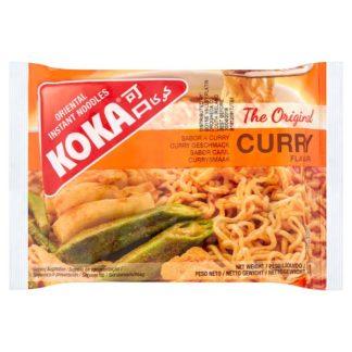 Koka The Original Curry Flavour Oriental Instant Noodles 85g (Case of 5)