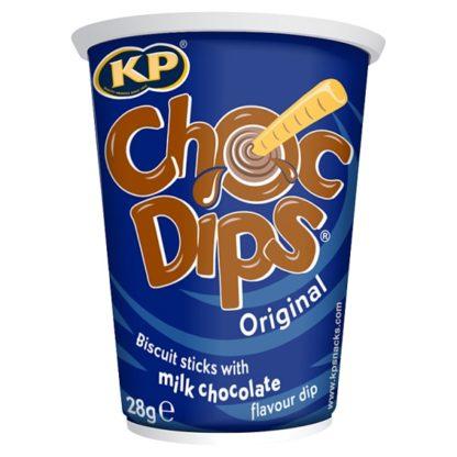 KP Choc Dips Original 28g (Case of 12)