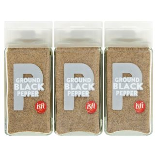 Isfi Spices Ground Black Pepper 6 x 41g (Case of 6)