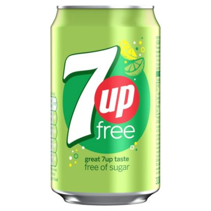 7UP Free 330ml (Case of 24)