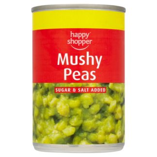Happy Shopper Mushy Peas 300g (Case of 12)