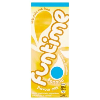 Funtime Banana Flavour Milk 200ml (Case of 30)